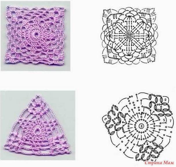 Схемы вязания узоров