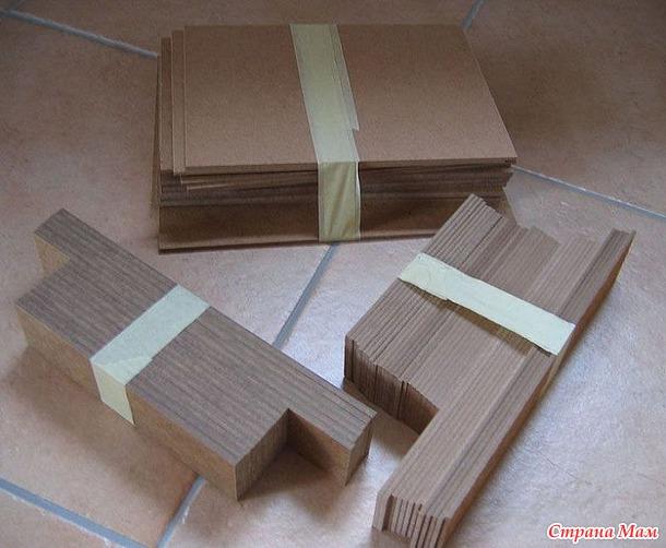 Комодик для мулине из картона своими руками 68
