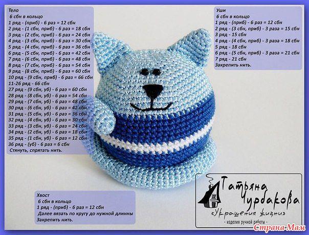 Вязание котов