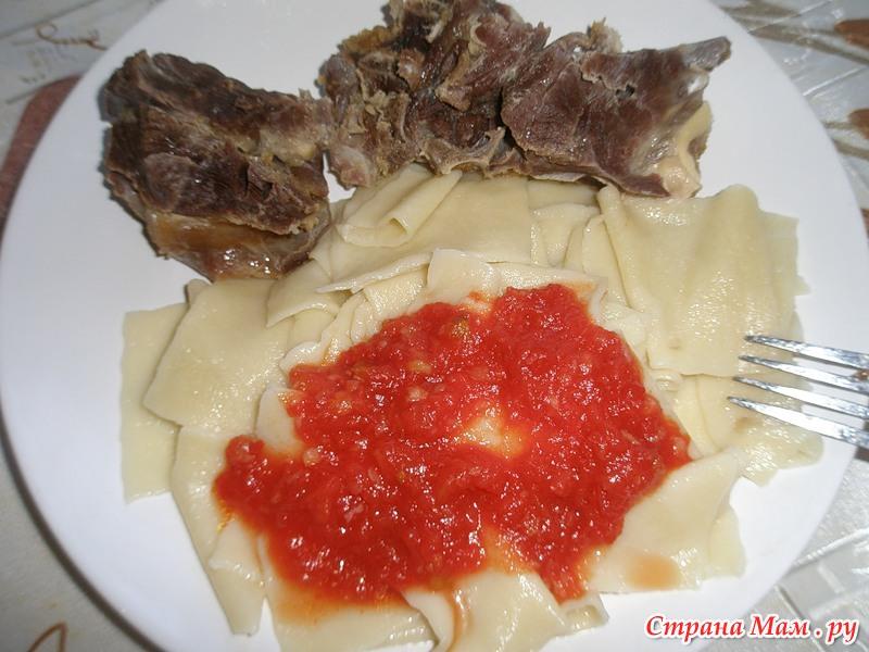 Хинкал дагестанский из курицы рецепт с фото