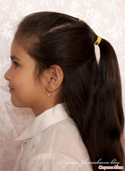 Причёска в школу за 15 минут