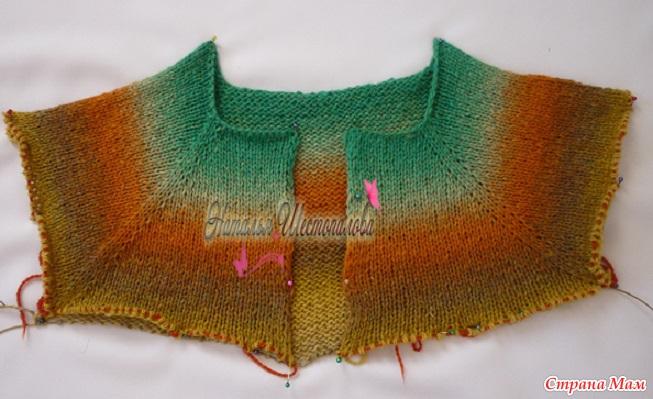 вязание пряжей дундага