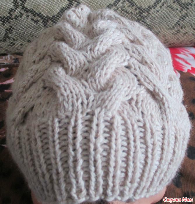 Вязание нитками из норки