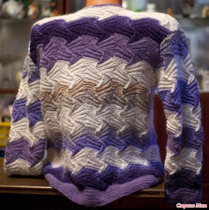 针织迷人的开衫 - maomao - 我随心动