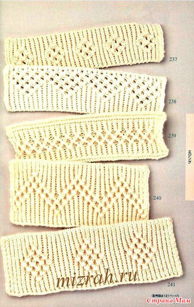 Вязание резинка по японски