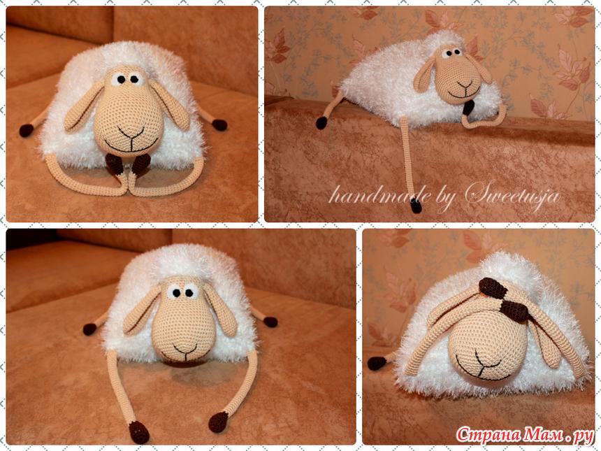 Подушки  с овечками 87
