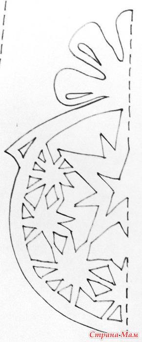 Объемные новогодние украшения из бумаги своими руками шаблоны
