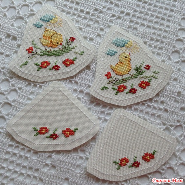 """Пасхальный колокольчик #3 """"Весенний цыпленок"""", Схема + МК по сборке :-)"""