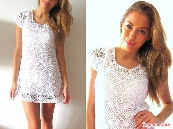 Летнее платье мотивами от Zara