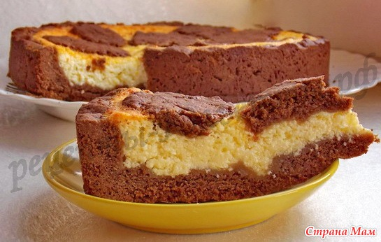 пирог с какао в духовке рецепты с фото
