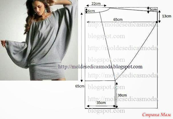 Интересные модели и простые выкройки - 3