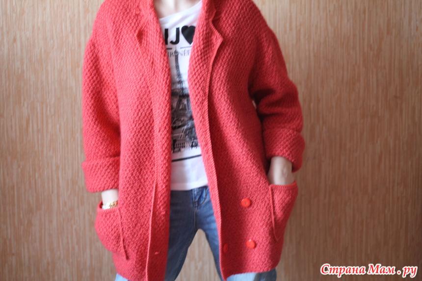 Пальто оверсайз от татьяны савельевой вязание спицами 930
