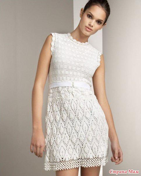 Летний зефир - платье с шишечками от Ребекки Тейлор