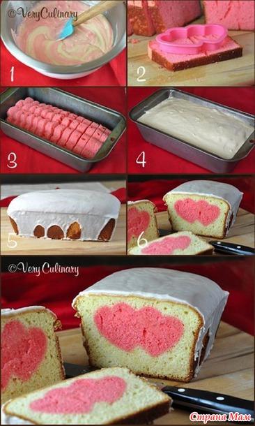 Торт с сюрпризом внутри