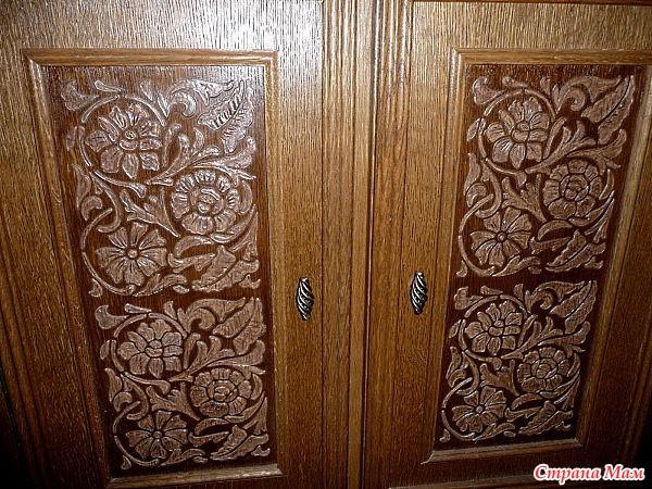 Мастер класс реставрация двери