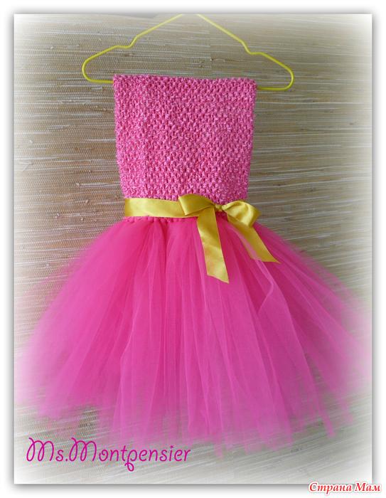 платья пачка  для девочек