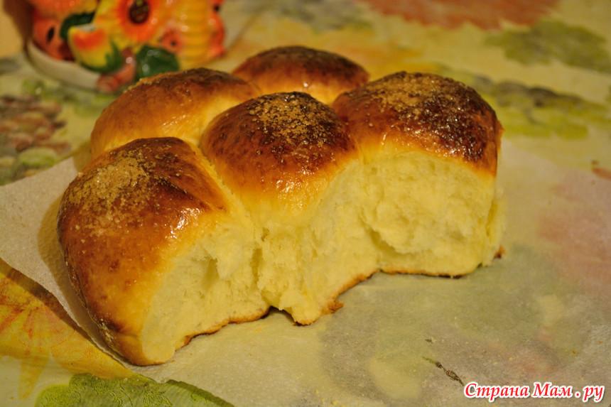рецепт пышного булочки