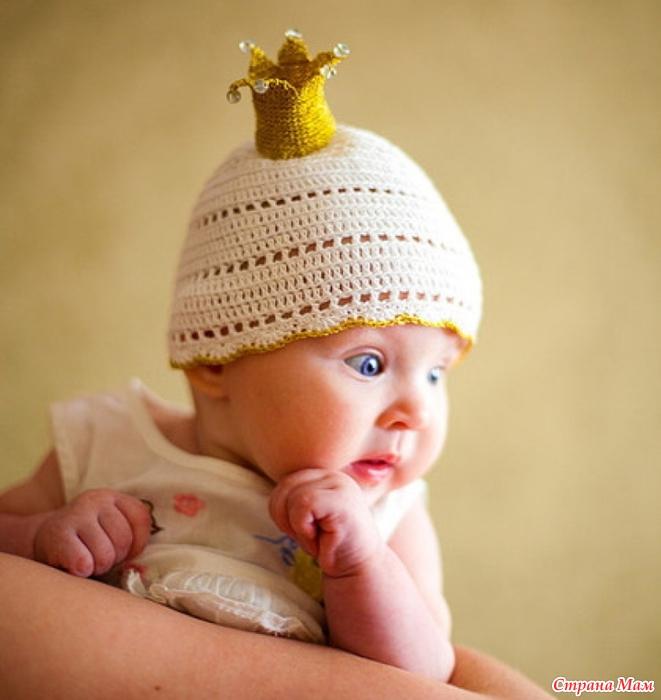 Вязание для всех шапочка для принцессы