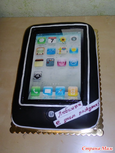 торт из мастики телефон фото