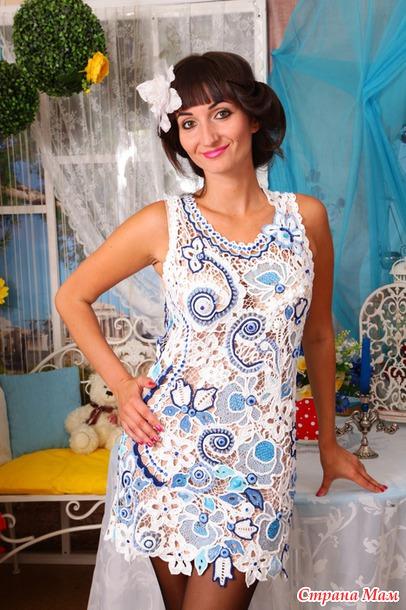 Платья из румынского кружева