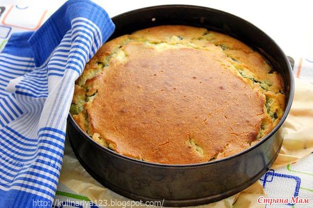 Пирог с зеленью и яйцом рецепт с
