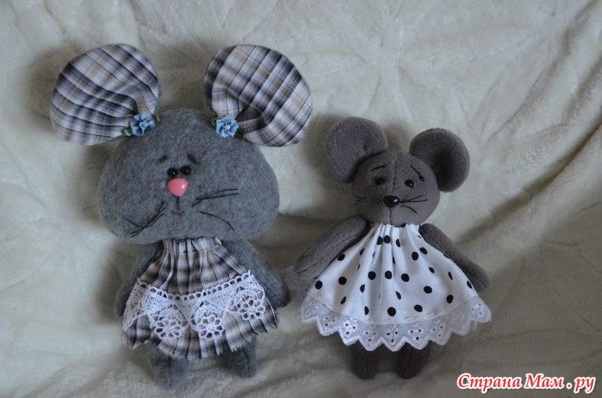 Маленькая мышка своими руками
