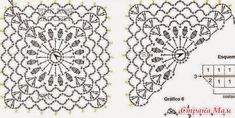 Крючок+ ткань. Идеи для вдохновения. Часть №1