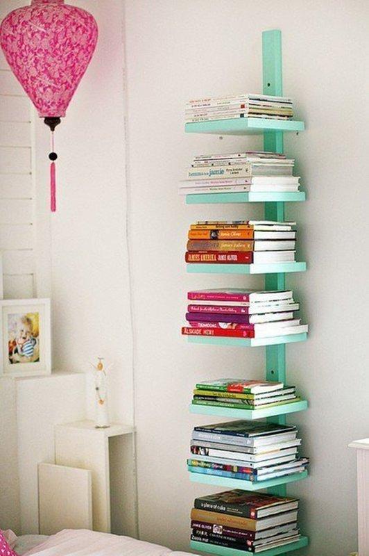 Детская полочка для книг своими руками