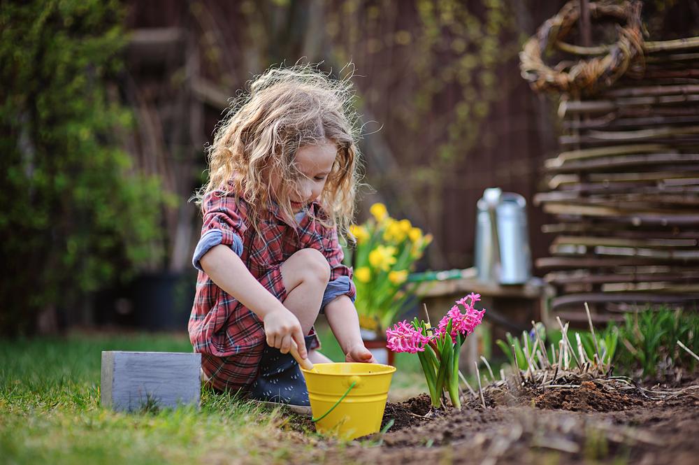Дети в деревне весной картинки