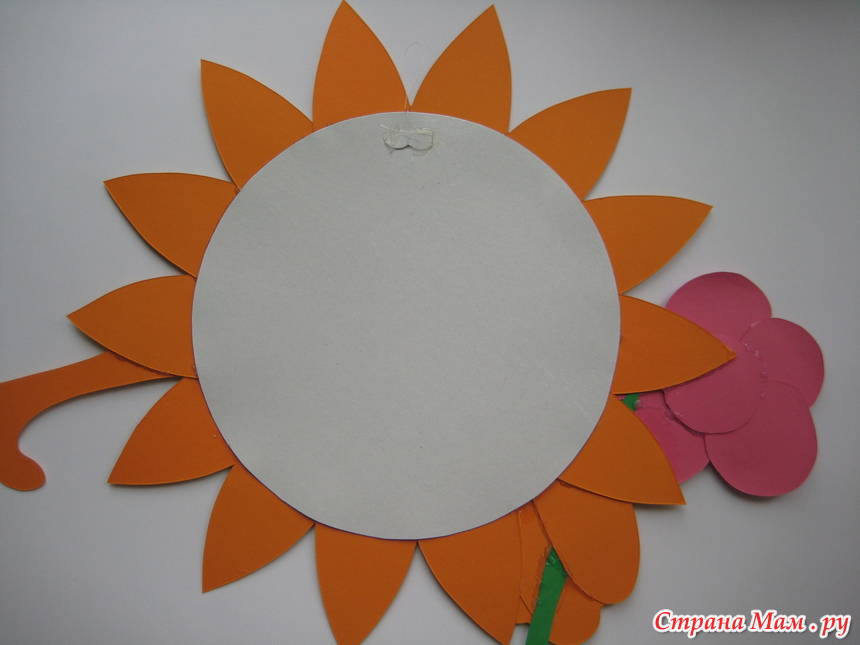 Солнце своими руками схема 348
