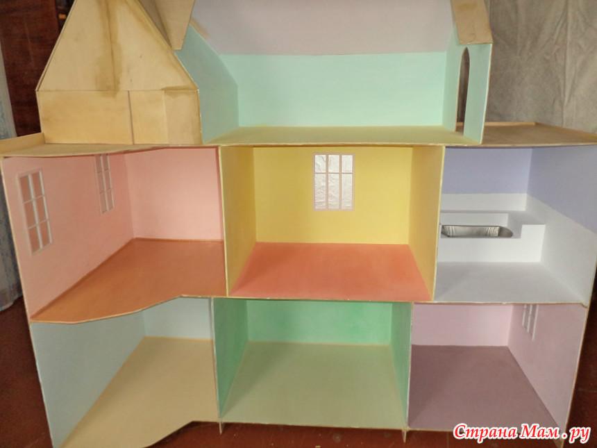 Мебель в домик барби своим руками