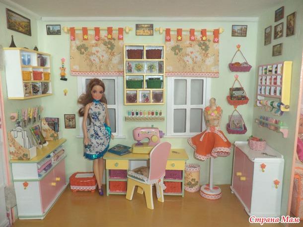 Спальня для кукол своими руками фото 1