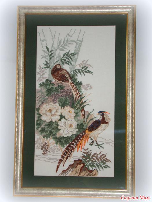 Цапли и фазаны от Riolis