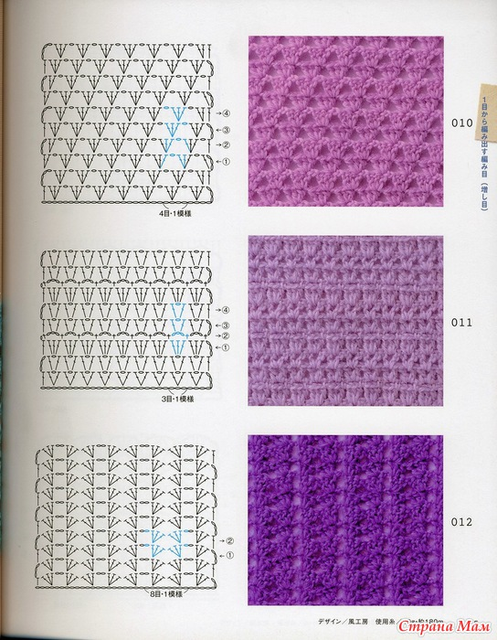 Схема вязания крючком салфетки. Простые уроки