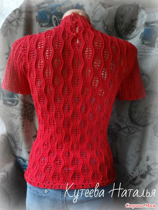 """T恤套衫""""红潮"""" - maomao - 我随心动"""