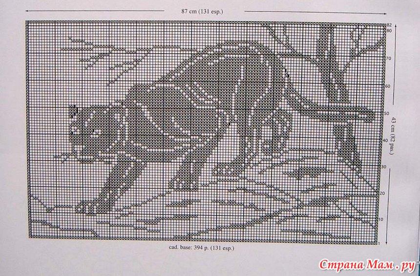 Дикие кошки. Схемы для вязания