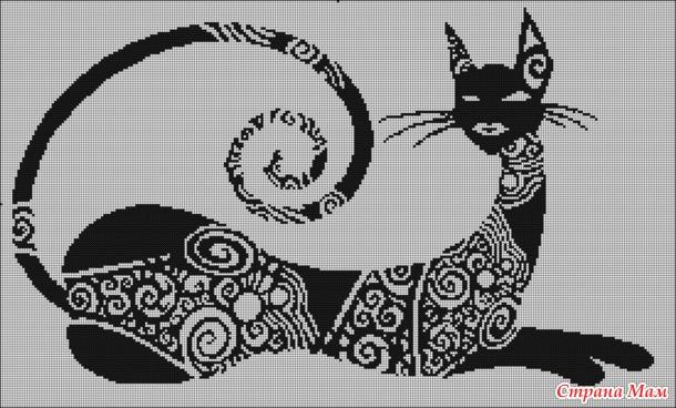 Схемы кошек и котов для