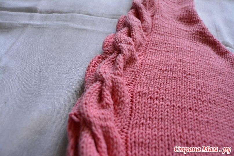 Пуловер С Поперечными Косами С Доставкой