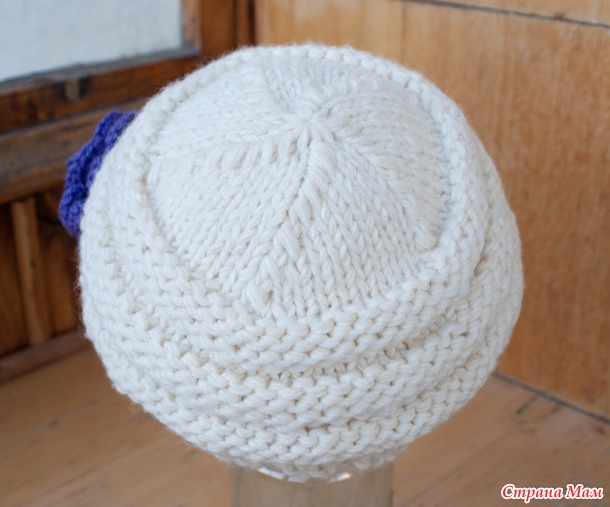 шапка из пряжи ализе мегафил