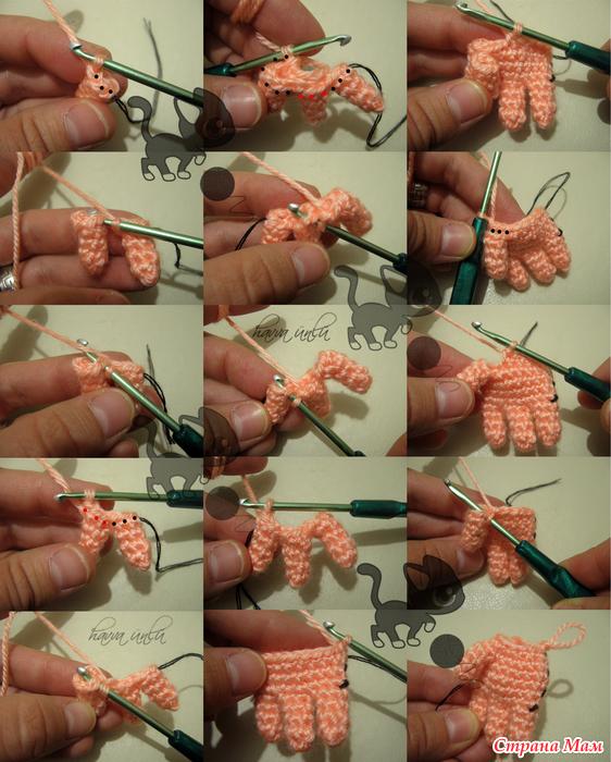 Как связать крючком куклу своими руками