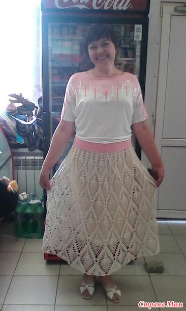 Вязание со светланой берсановой юбка