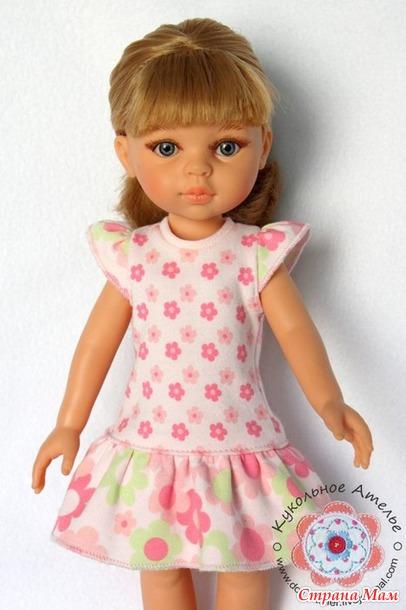 Выкройки одежды для кукол паола рейна 32 см
