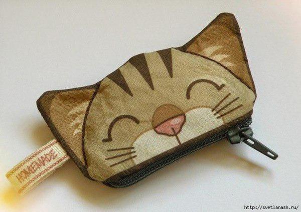 Как сделать пенал котик