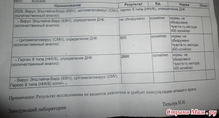 Вирус герпеса - Страна Мам