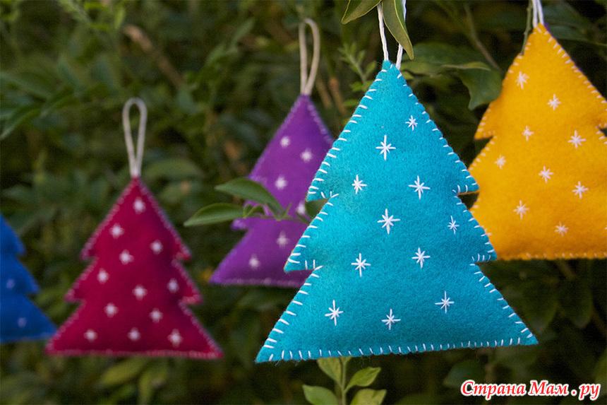 Сделать игрушку на елку своими руками на новый год