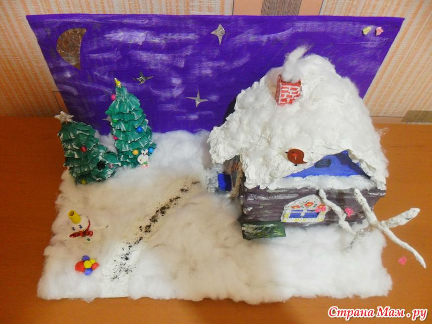 Зимние поделки в детский сад своими руками. Мастер-классы с