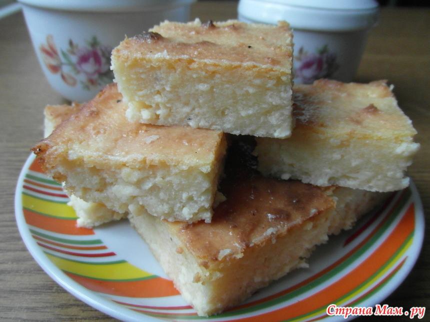 Рецепт творожной запеканки с содой