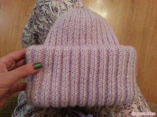 Вязание как закончить шапку 335