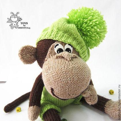 Игрушки обезьянки своими руками крючком