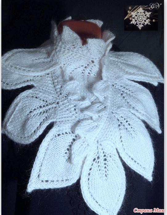 """针织围巾""""脱落"""" - maomao - 我随心动"""